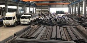 Nhà máy sản xuất thép hình chữ V - BAOGIATHEPXAYDUNG.COM