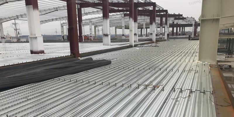 Công trình sử dụng tôn lót sàn deck